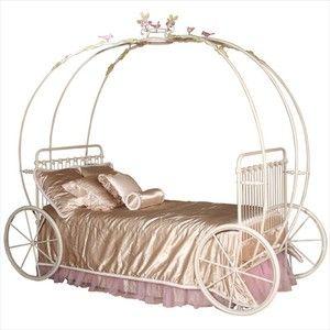 Pumpkin Coach Princess Bed by Corsican