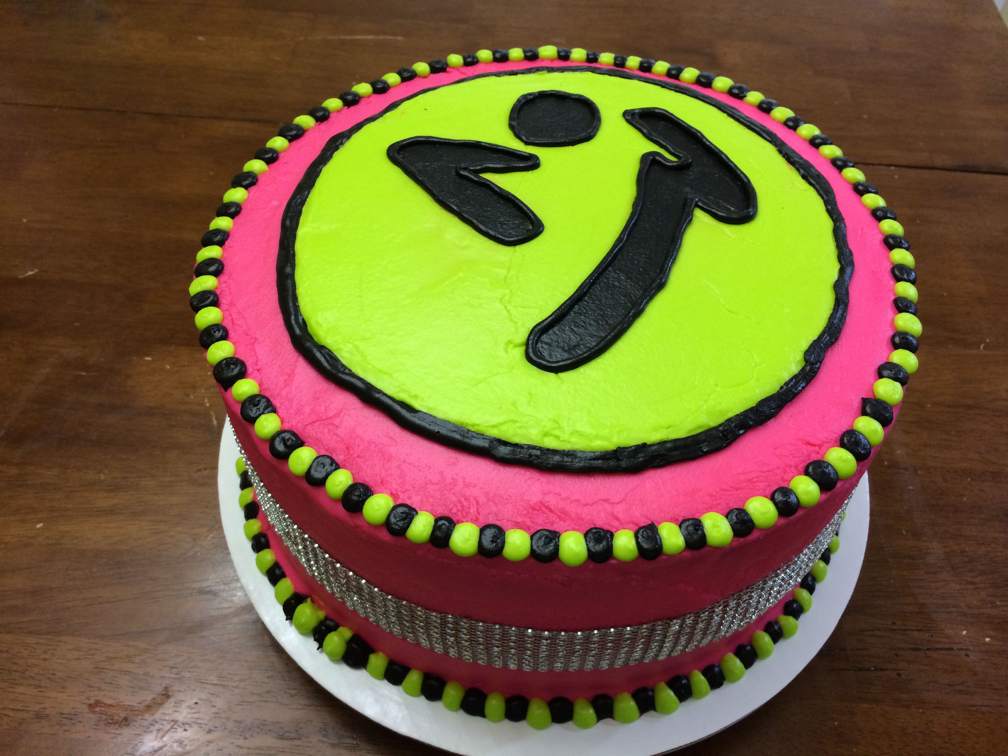Zumba Birthday Cake For My Sister She Is A Zin Zumba Instructor And