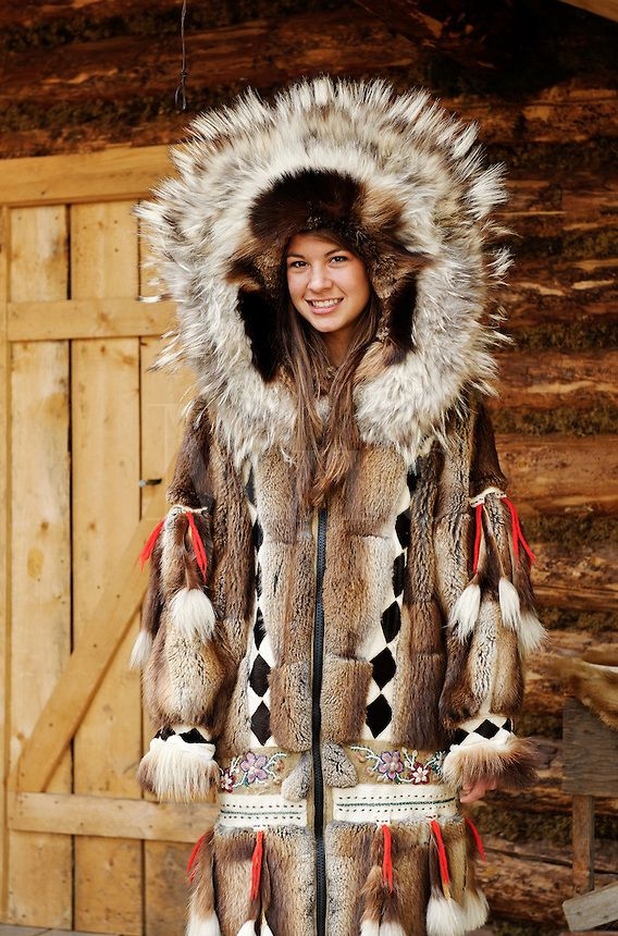 our outfit Eskimo Fur Coat
