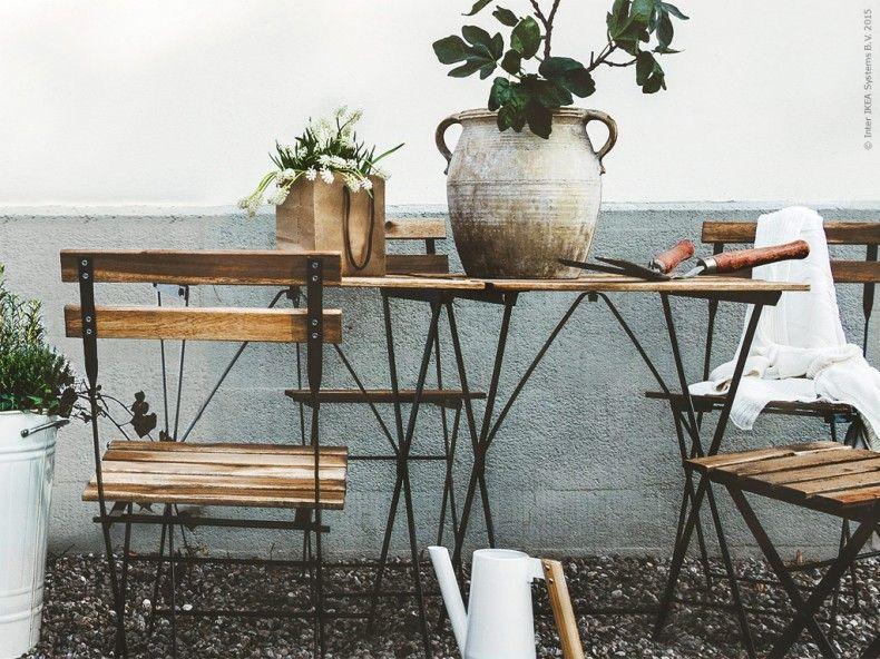 Uteplatsen – på plats! – Livet Hemma | Uteplats, Ikea, Platser