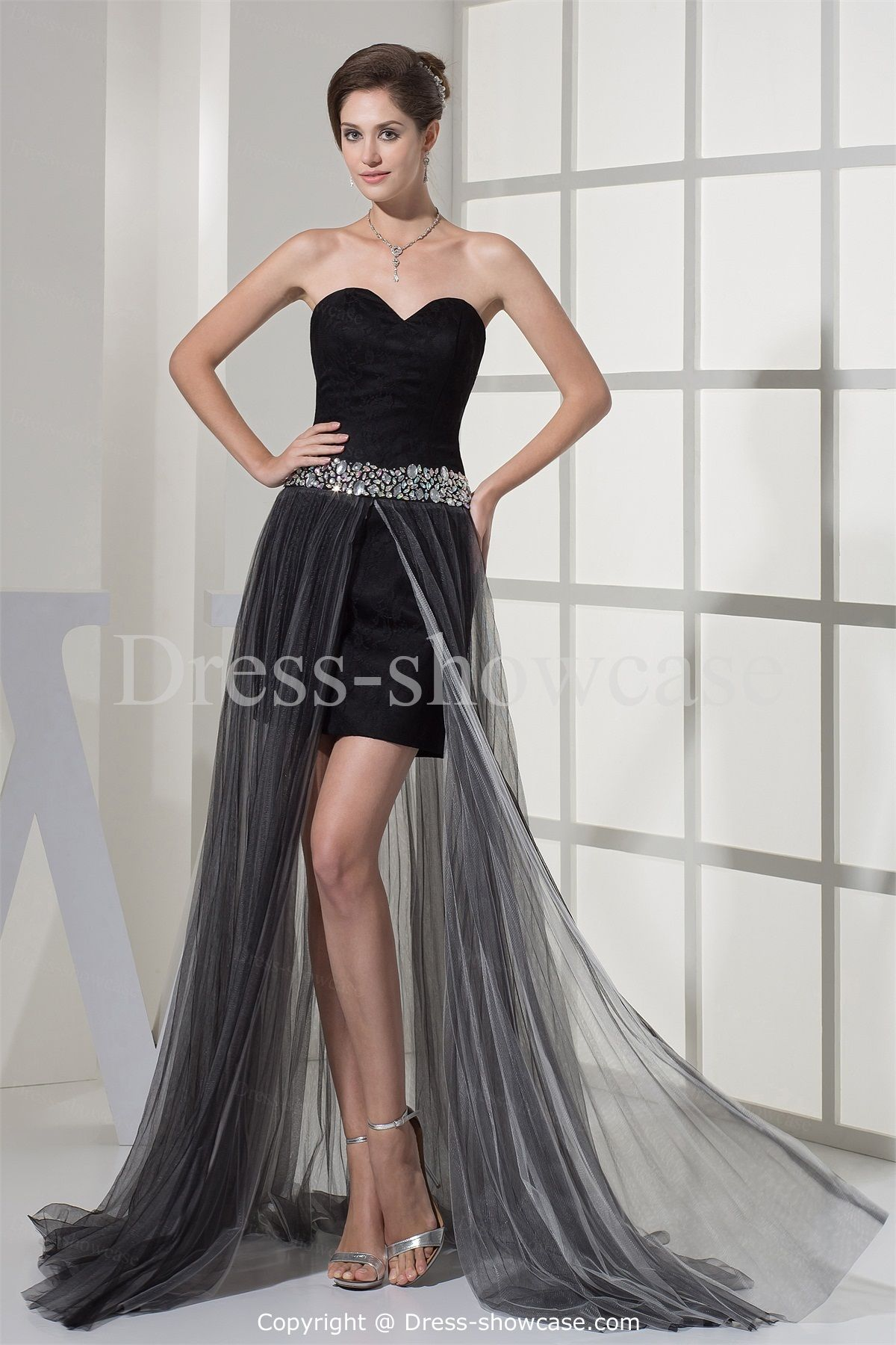 Sweet 16 black dress