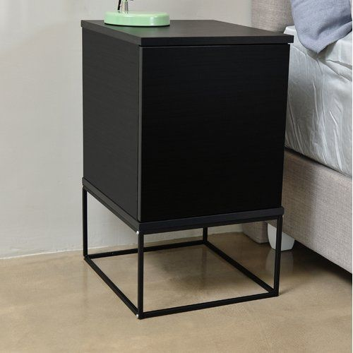 Mercury Row Caruso 1 Drawer Bedside Table Drawers End Tables With Storage Adjustable Shelving