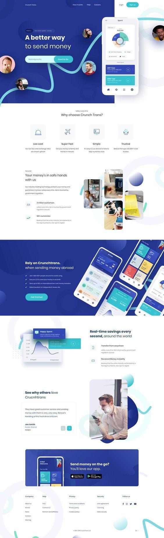 Web Con Inspiraci N Web Design Ux Web Design Web Development Design