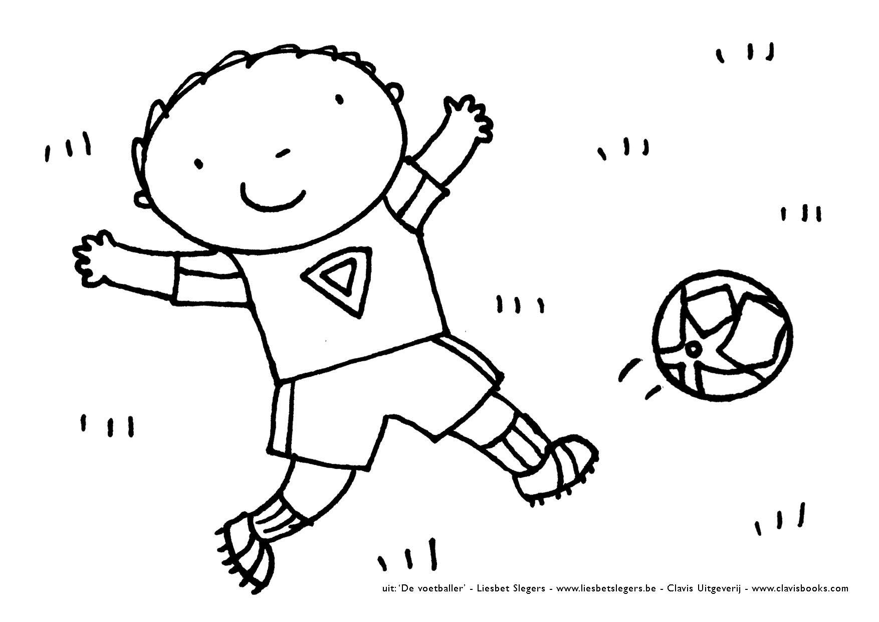 De Voetballer Jpg 1754 1240 Voetballers Voetbal Voetballen
