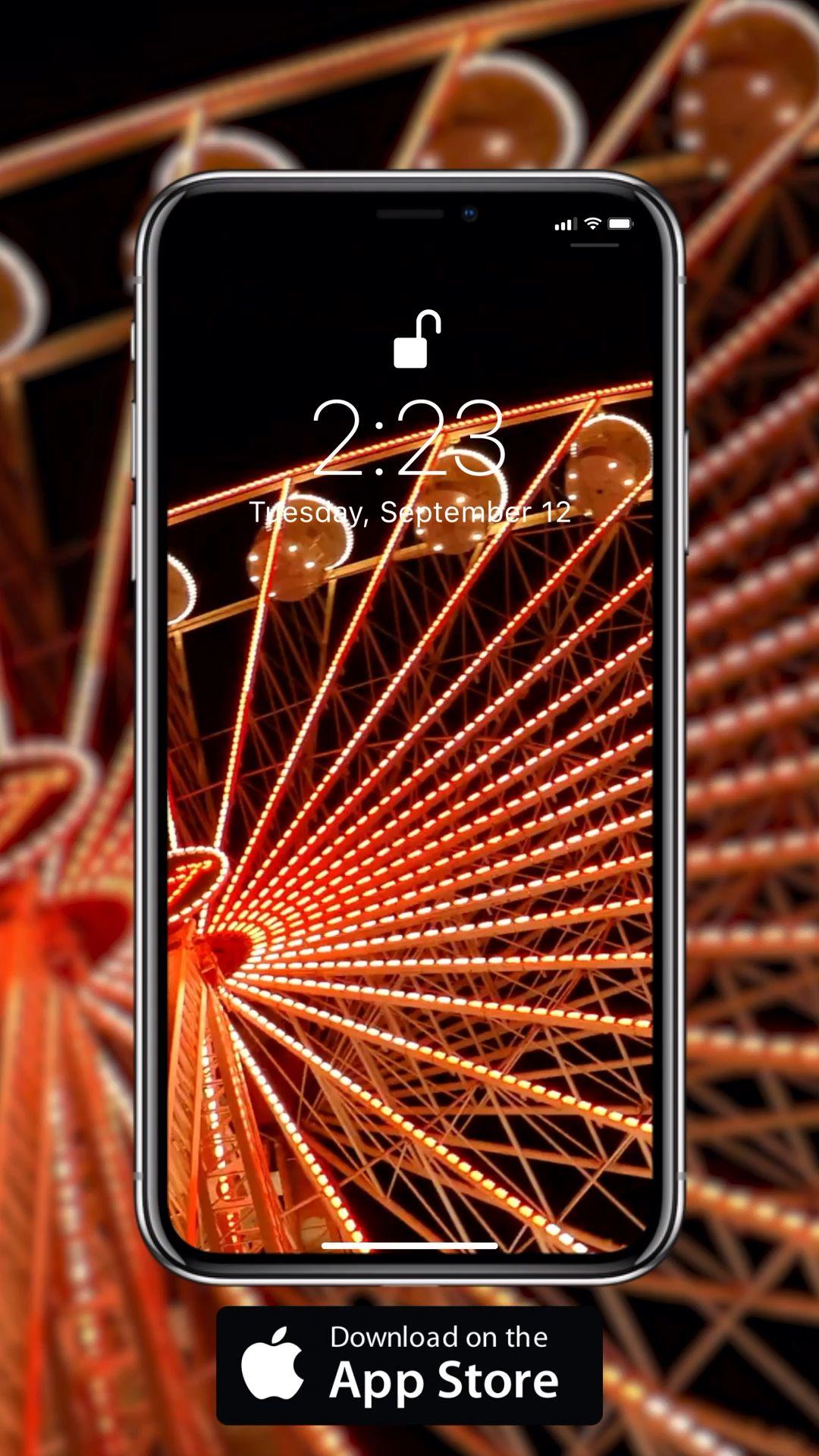 Ferris Wheel Video Iphone Wallpaper Video Live Wallpapers Live Wallpaper Iphone