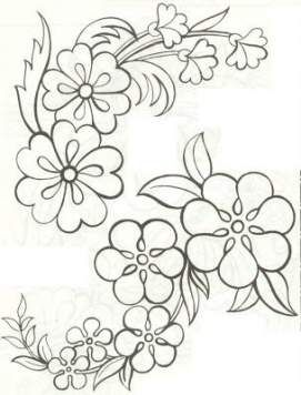 Flowers Pattern Drawing Templates Embroidery Designs 33 Ideas Beadwork Patterns Embroidery Flowers Pattern Drawing