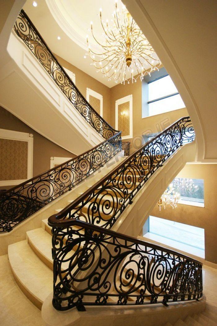 Самые красивые кованые лестницы в мире фото