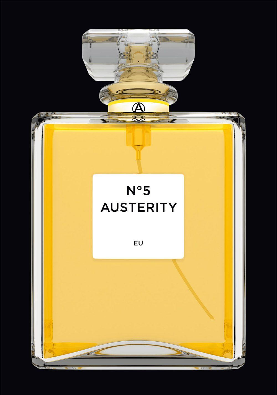 OXYMORON #chanel, 2014 Size: 84,1 x 118,9 cm #parfume #austerity