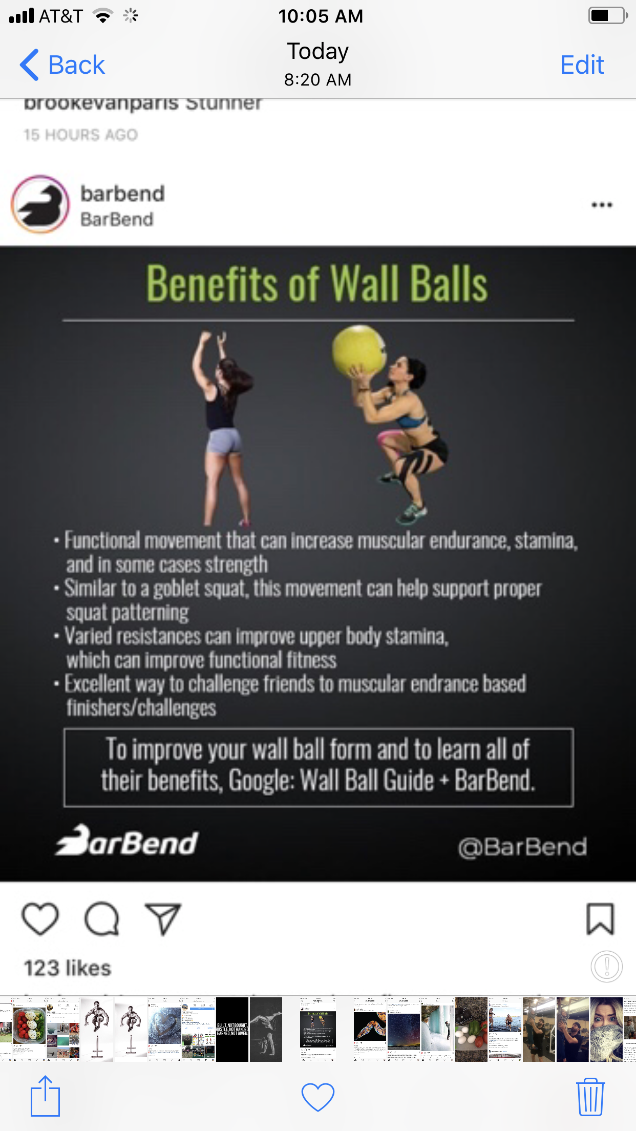Pin by BarBend on BarBend Infographics Card workout