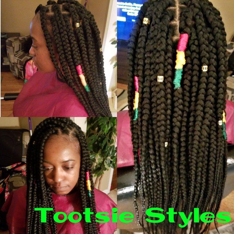 Pin By Tootsie On Bob Marley Design Box Braids Hair Styles Box Braids Hair Wrap
