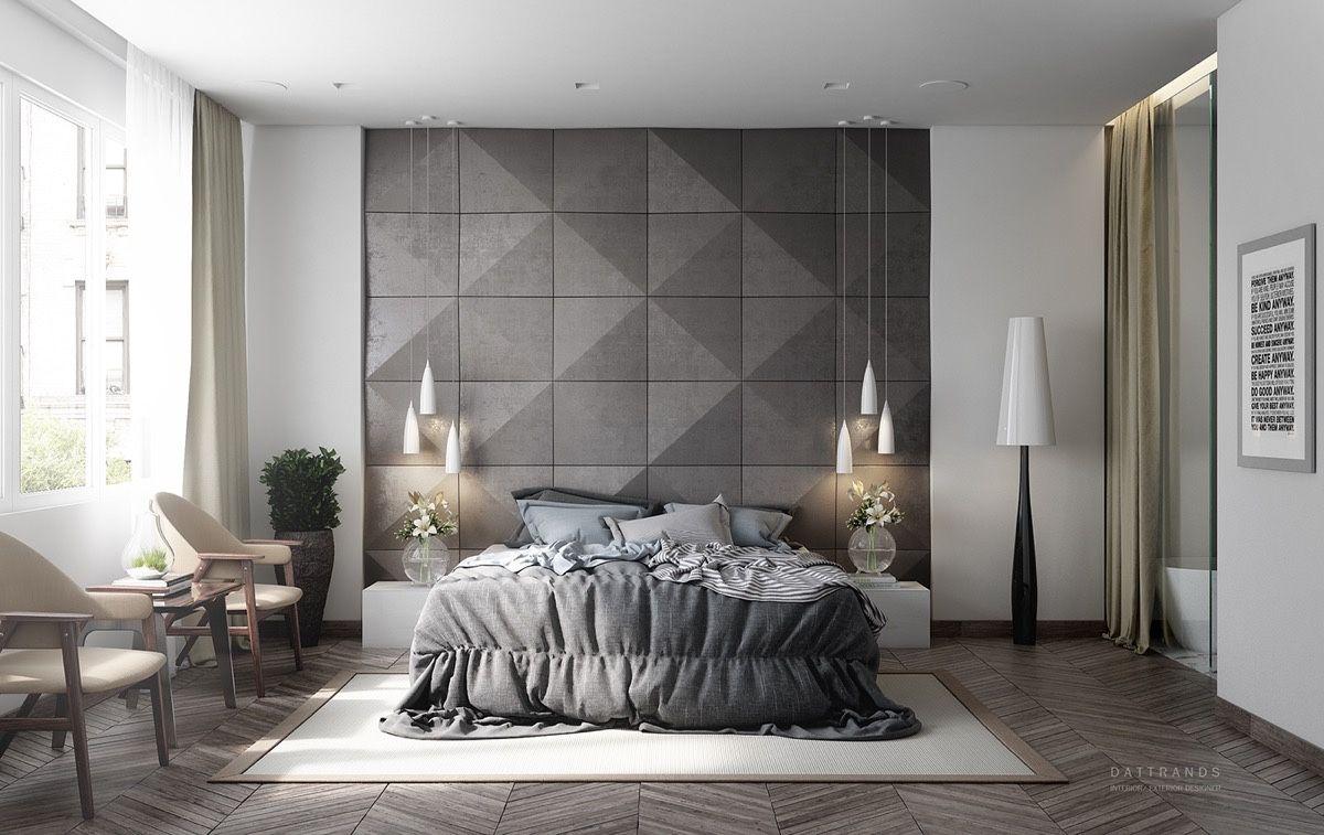 11 Gorgeous Grey Bedrooms  Master bedroom interior design, Master