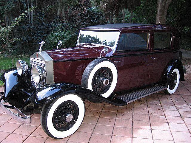 1925 Rolls Royce Brewster Body Limo