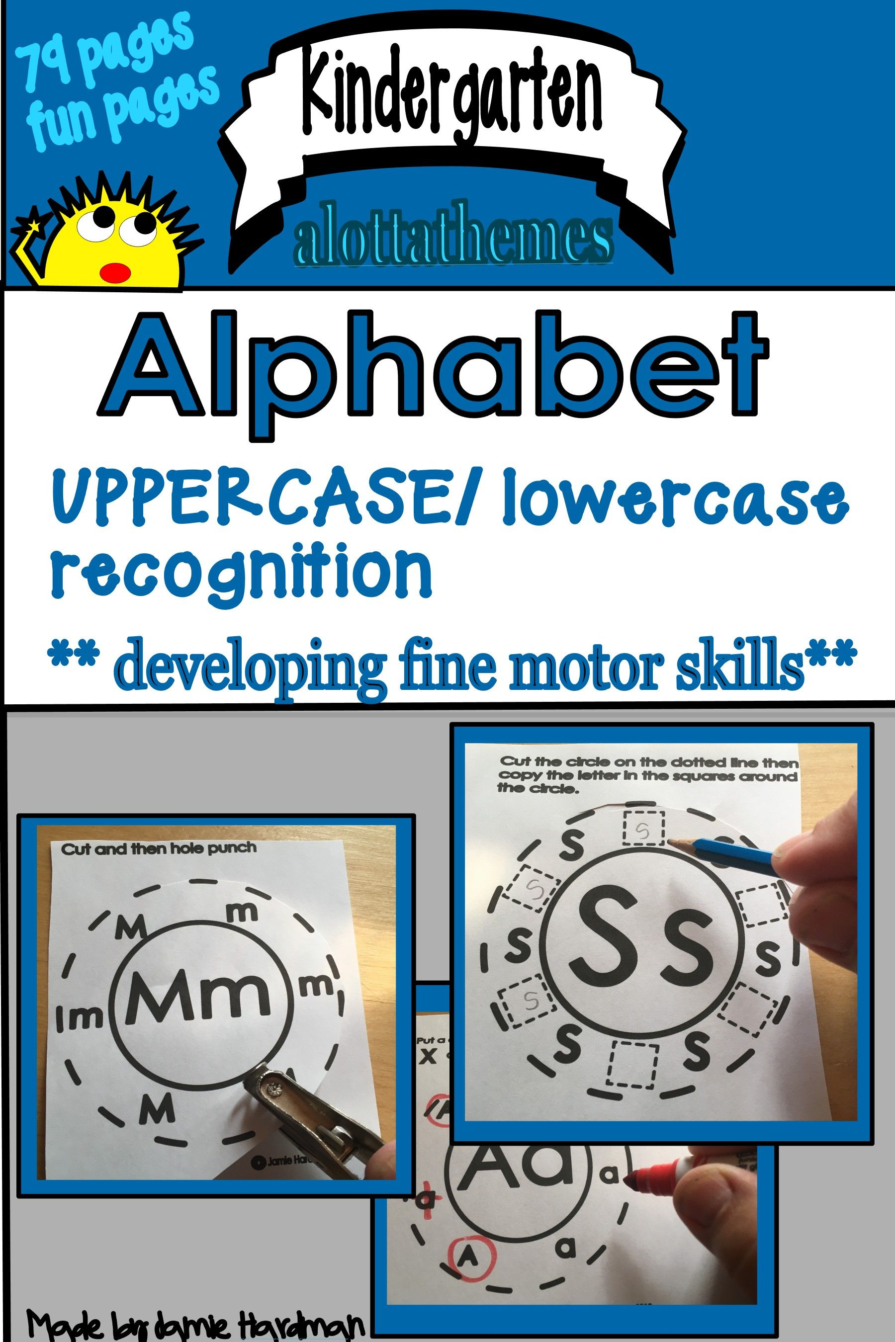 Kindergarten Alphabet Holepunch