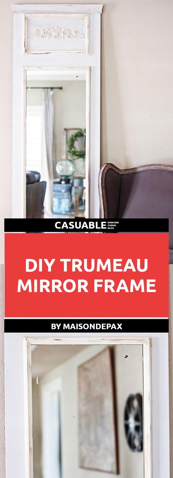 36d61741234 20 DIY Easy   Cheap To Make Mirror Frames Perfect For Decor - Tutorials
