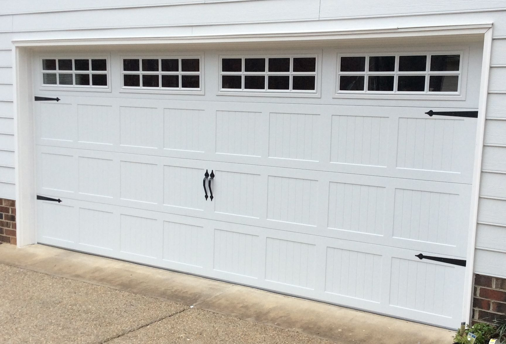 16x7 model 5216 short panel stamped double sided steel garage door 16x7 model 5216 short panel stamped double sided steel garage door with top square stockton inserts rubansaba