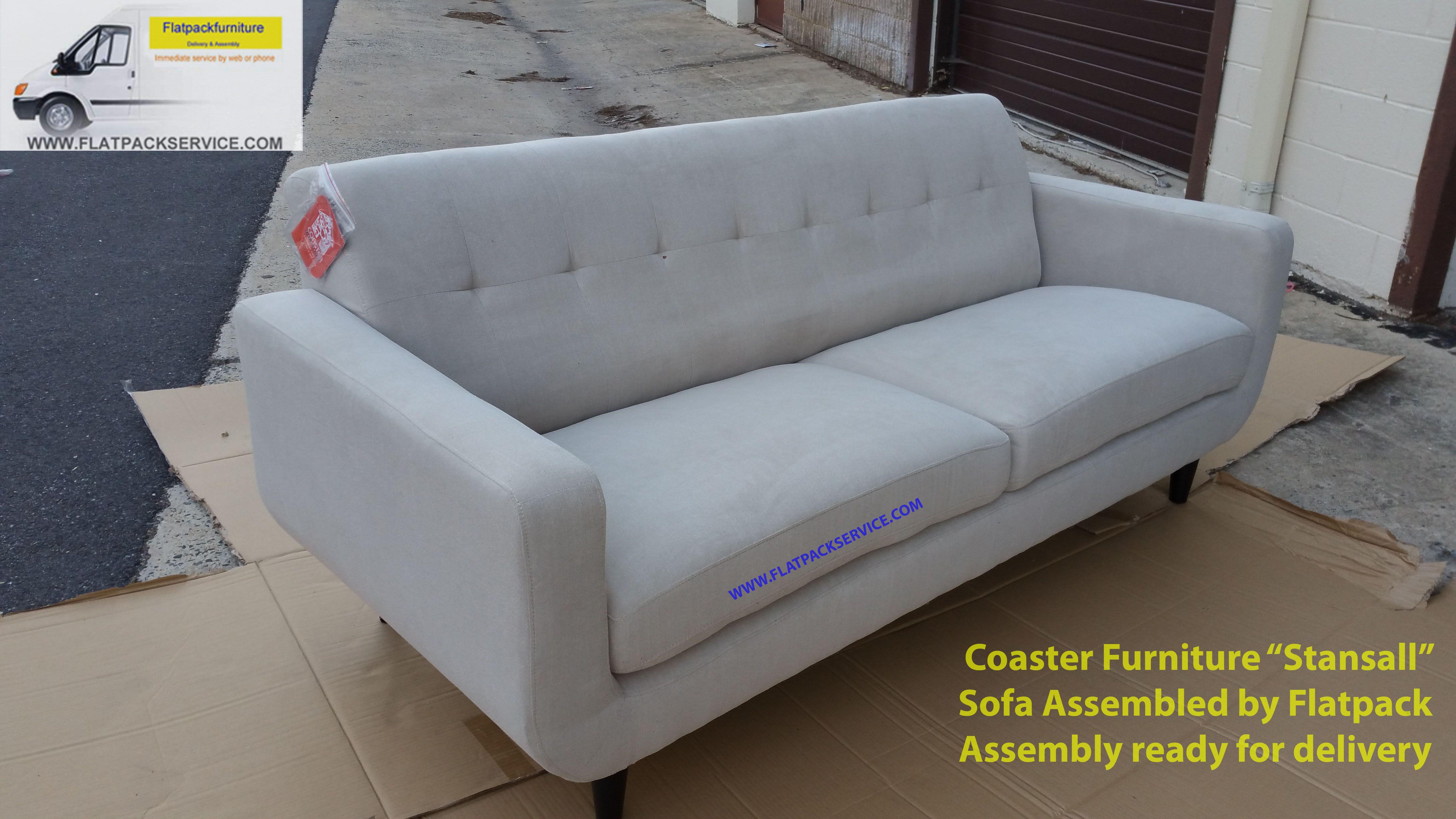Coaster Furniture Sofa Assembled By Flatpack Assembly 301 971 7219 Contactless Service Sofa Furniture Coaster Furniture Furniture