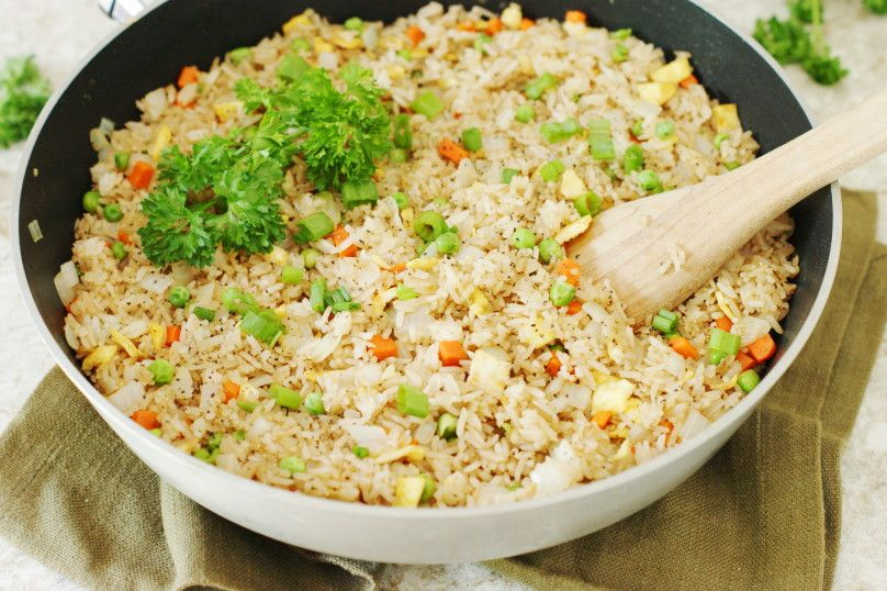 How to make fried rice genius kitchen food asian pinterest how to make fried rice ccuart Gallery