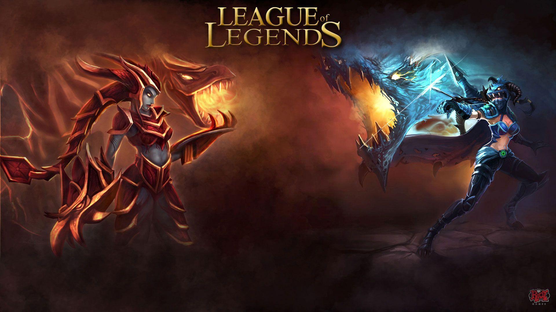 League Of Legends Wallpapers HD Yasuo Vs Riven ArtOf 1920x1080 Lol 37