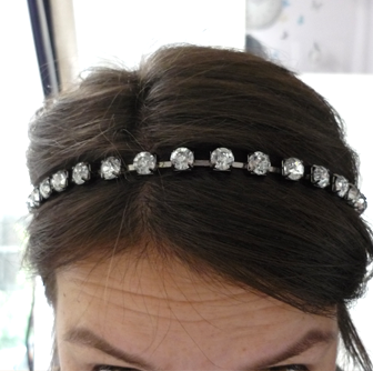 cute strass headband - haarband- Koop de leukste sieraden en mode accessoires online op de webshop!
