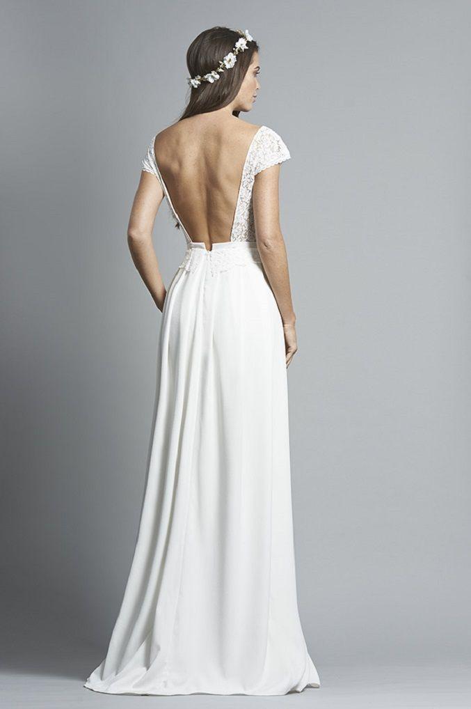 Fabienne Alagama 2018 Wedding Dresses - French designer wedding dress , lace wedding gown , wedding dress, wedding gown ,bridal dress
