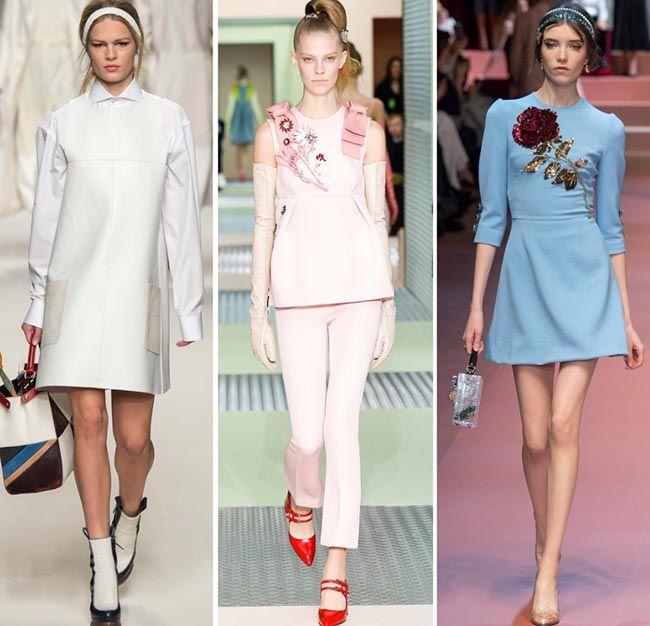 Fall Winter 2017 2016 Fashion Trends