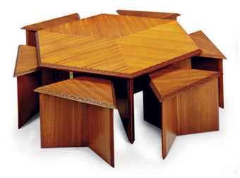 40+ Hexagonal dining table and chairs Trend