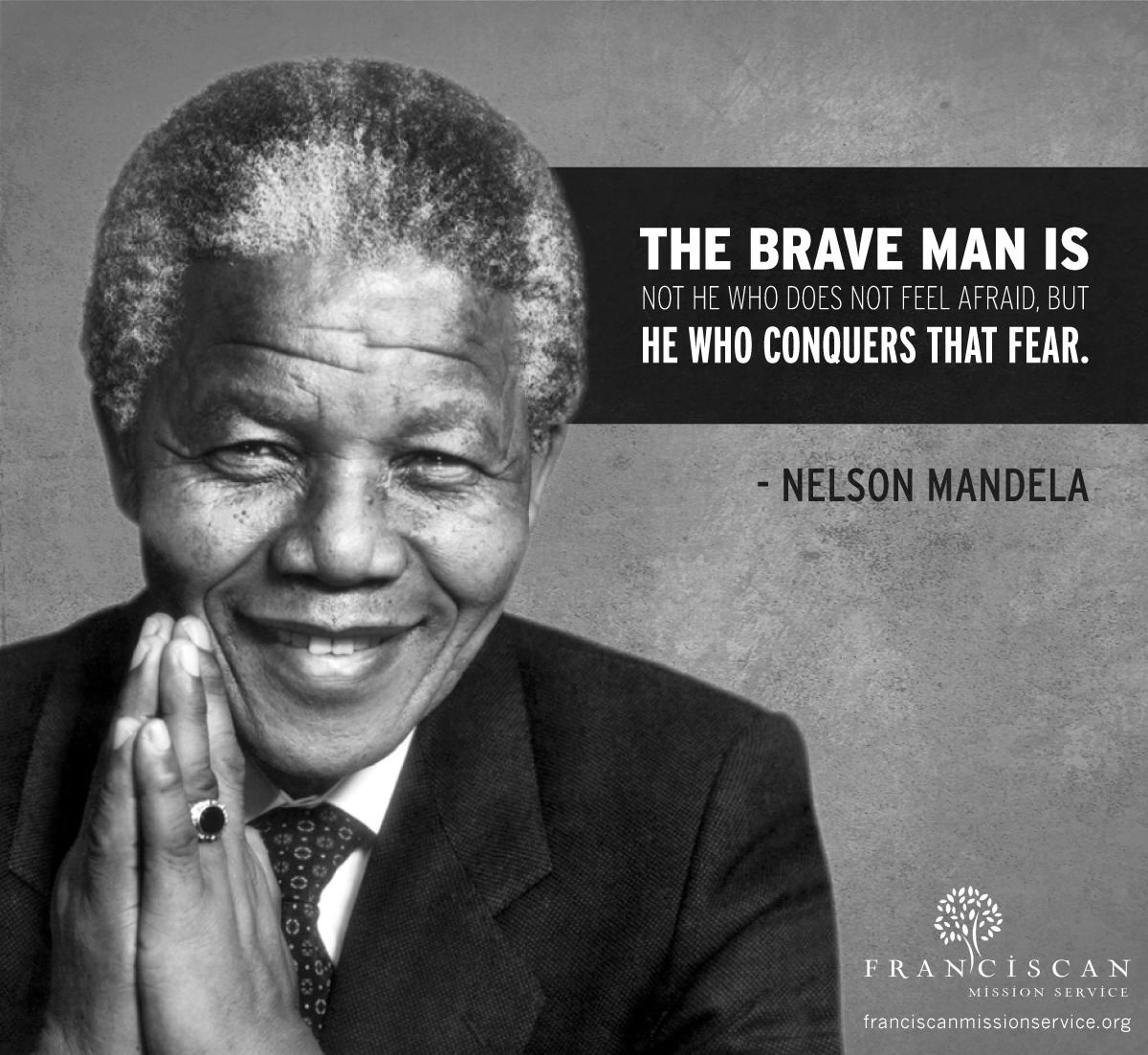 "BlackHistoryMonth quote courtesy of Nelson Mandela, ""the father of"