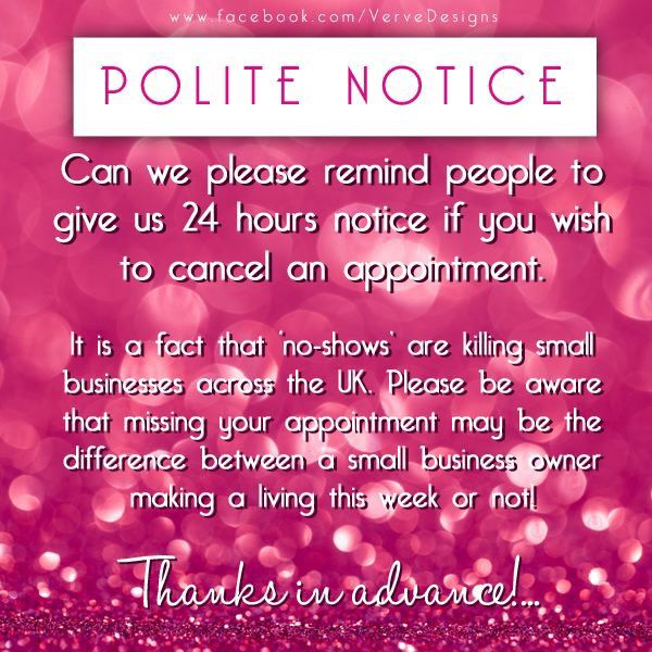 Cancellation policy cancellation policy Pinterest Salons - cancellation policy template