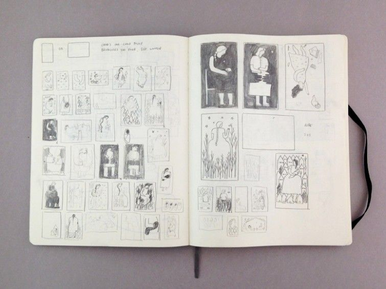 Jing Wei's Sketchbook and Q+A   Book By Its Cover