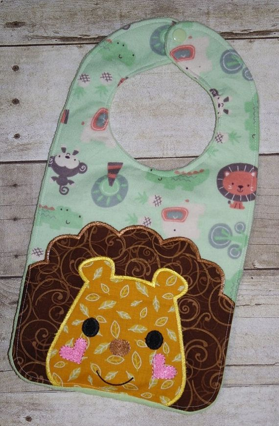 Sale Price   Lion Super Size Bib In The Hoop Embroidery