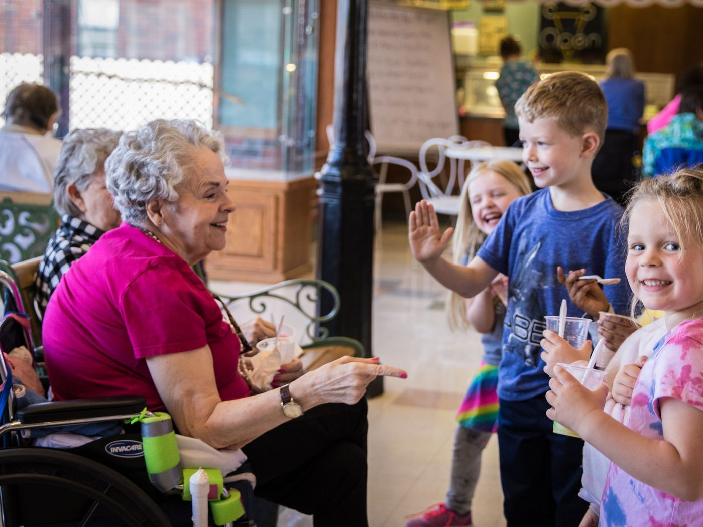 How Intergenerational Living Benefits The Book End