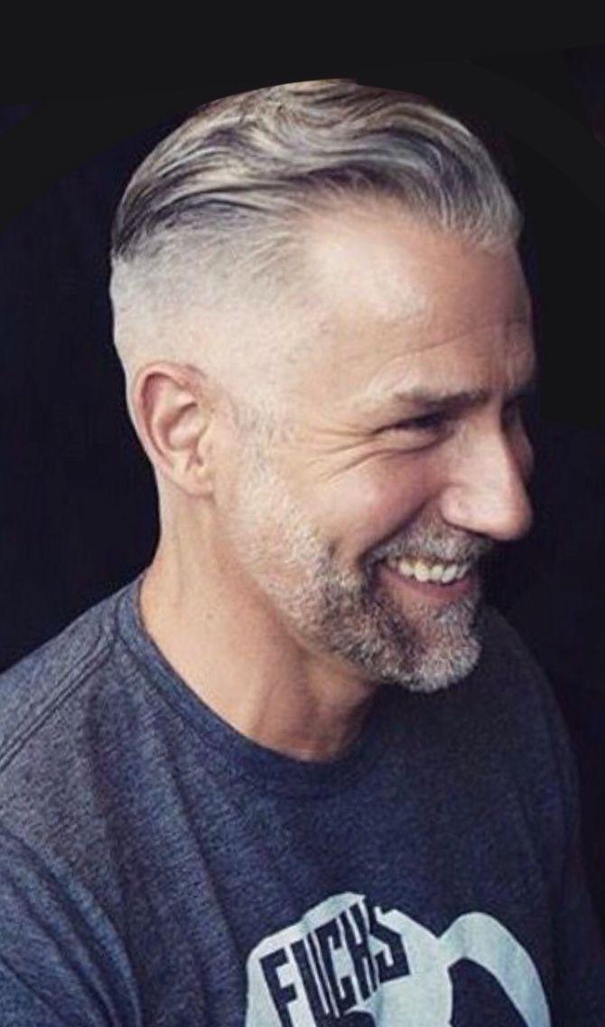 Handsome Gray Haired Silver Fox Silver Hair Men Older Mens