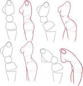 #Anatomia | how to draw a female body step 5