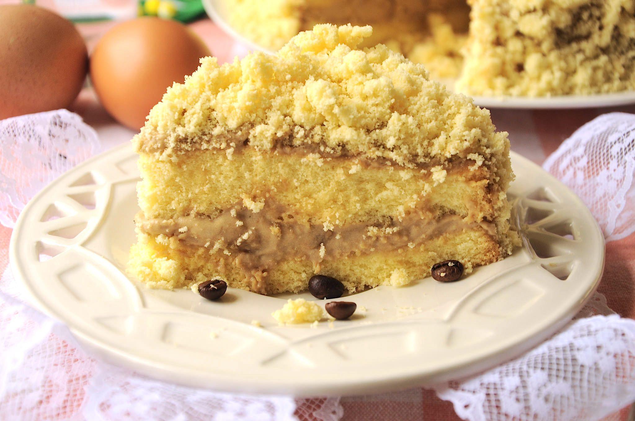La Torta Mimosa Al Caffe Bimby Con Anice è Una Torta Per La Festa