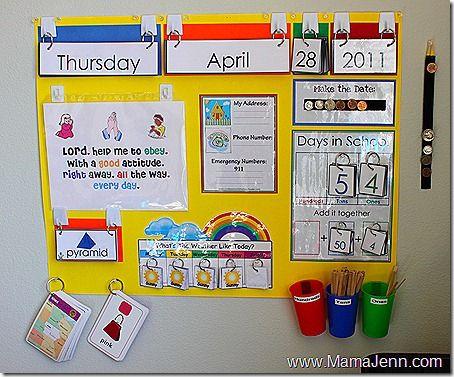 Calendar inspiration School Pinterest Calendar board