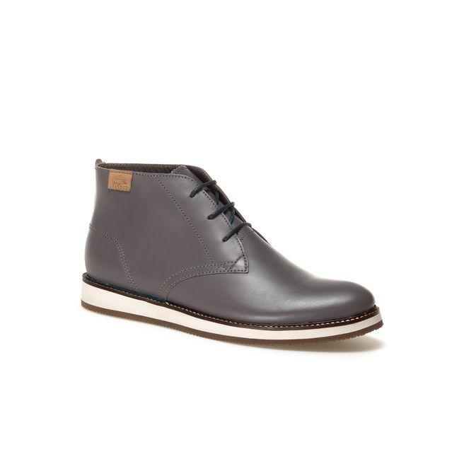 e117f29b305 Millard Chukka high-top derbies in leather   Fashion Victim   High ...