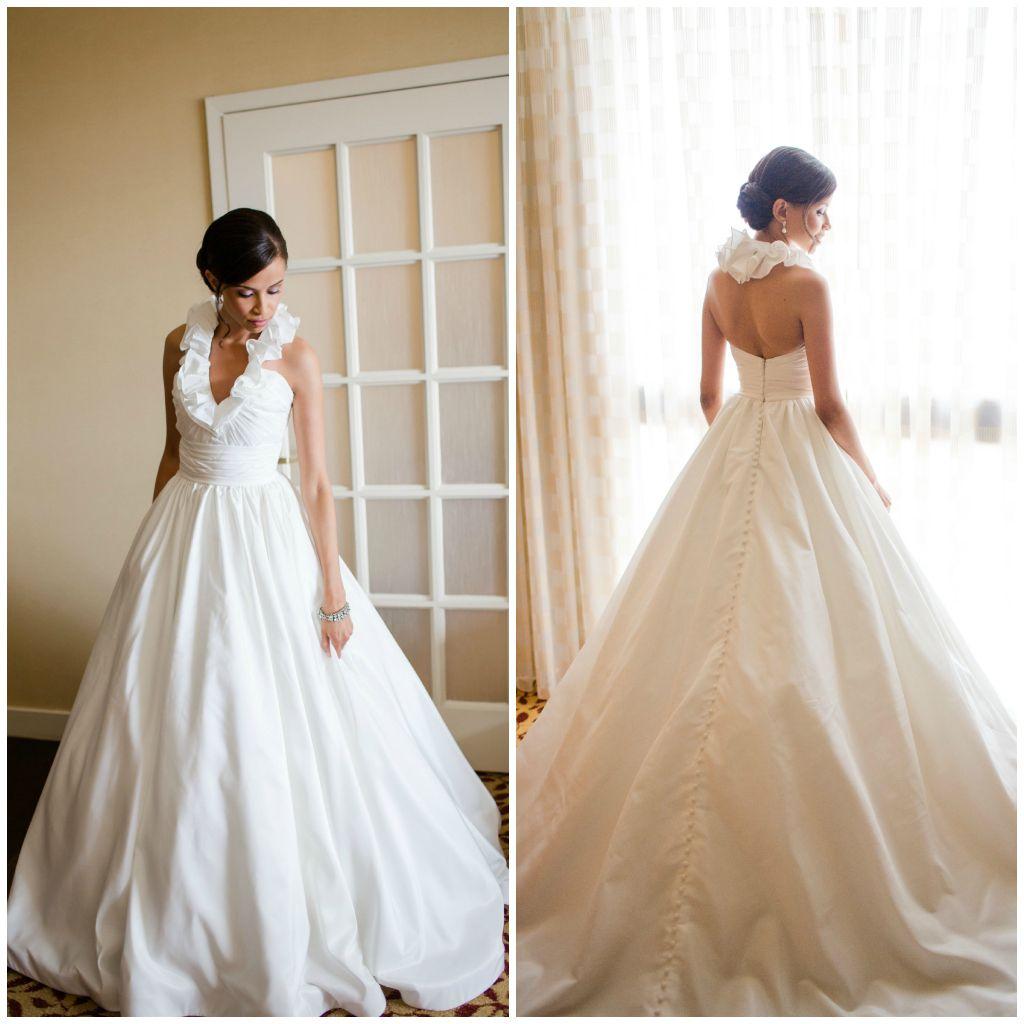 Ruffle collar wedding dresses google search i do pinterest ruffle collar wedding dresses google search ombrellifo Gallery