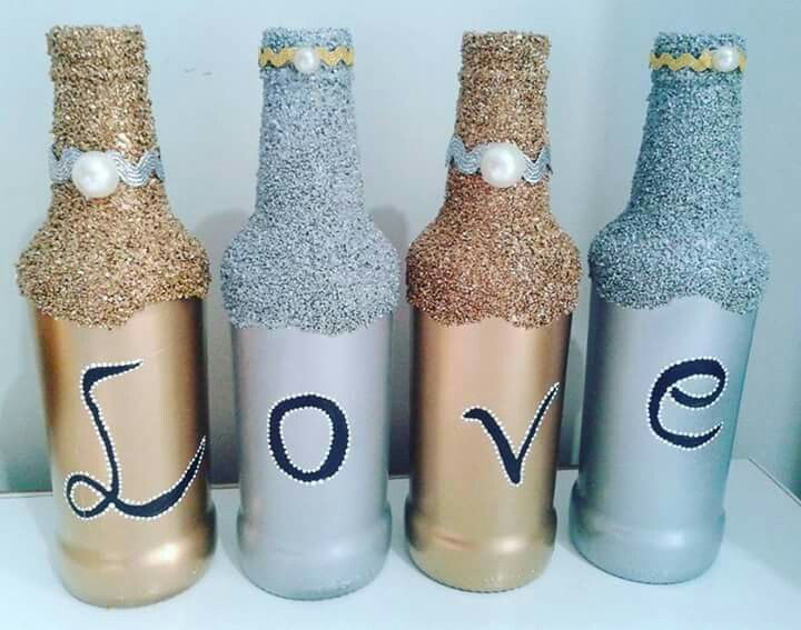 Botellas con ajonjolin