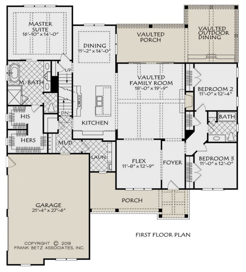 House Plan 8594 00001 Country Plan 2 187 Square Feet 3 Bedrooms 2 Bathrooms House Plans Farmhouse House Floor Plans Modern Style House Plans