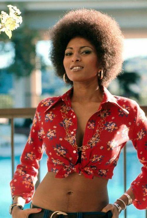 Pam Grier, 1970s.