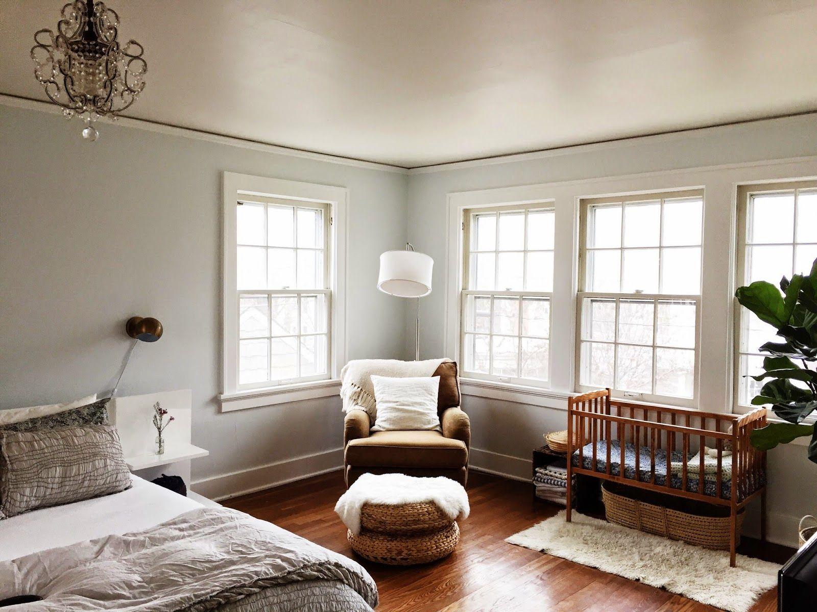 shared space nursery master bedroom h o m e nursery nook baby bedroom master bedroom. Black Bedroom Furniture Sets. Home Design Ideas