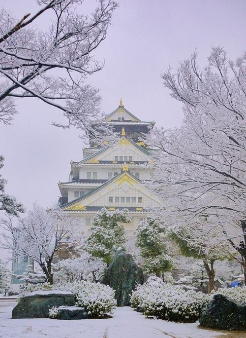 Japanese castle image by Jackie Kimball on Travel | Winter in ...