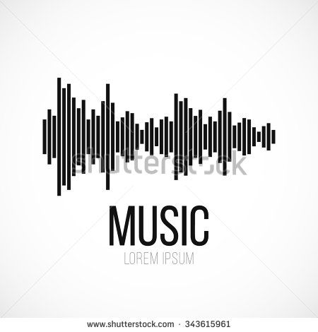 Abstract Equalizer Icon. Music / Sound Wave / DJ / Audio