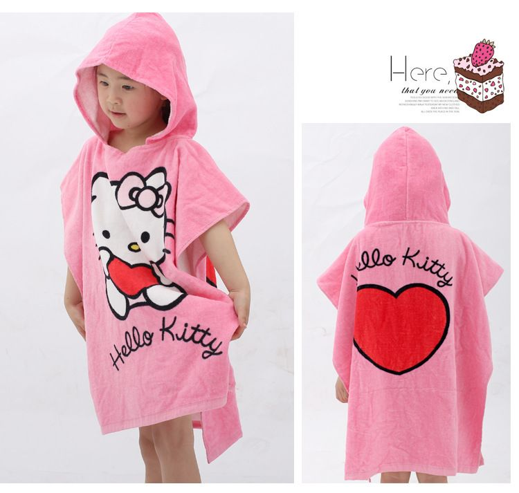 New cartoon animal baby hooded bathrobe bath towel bath terry.bathing robe  for children kids infantKT-in Robes from Apparel Accessories on. 40535e658