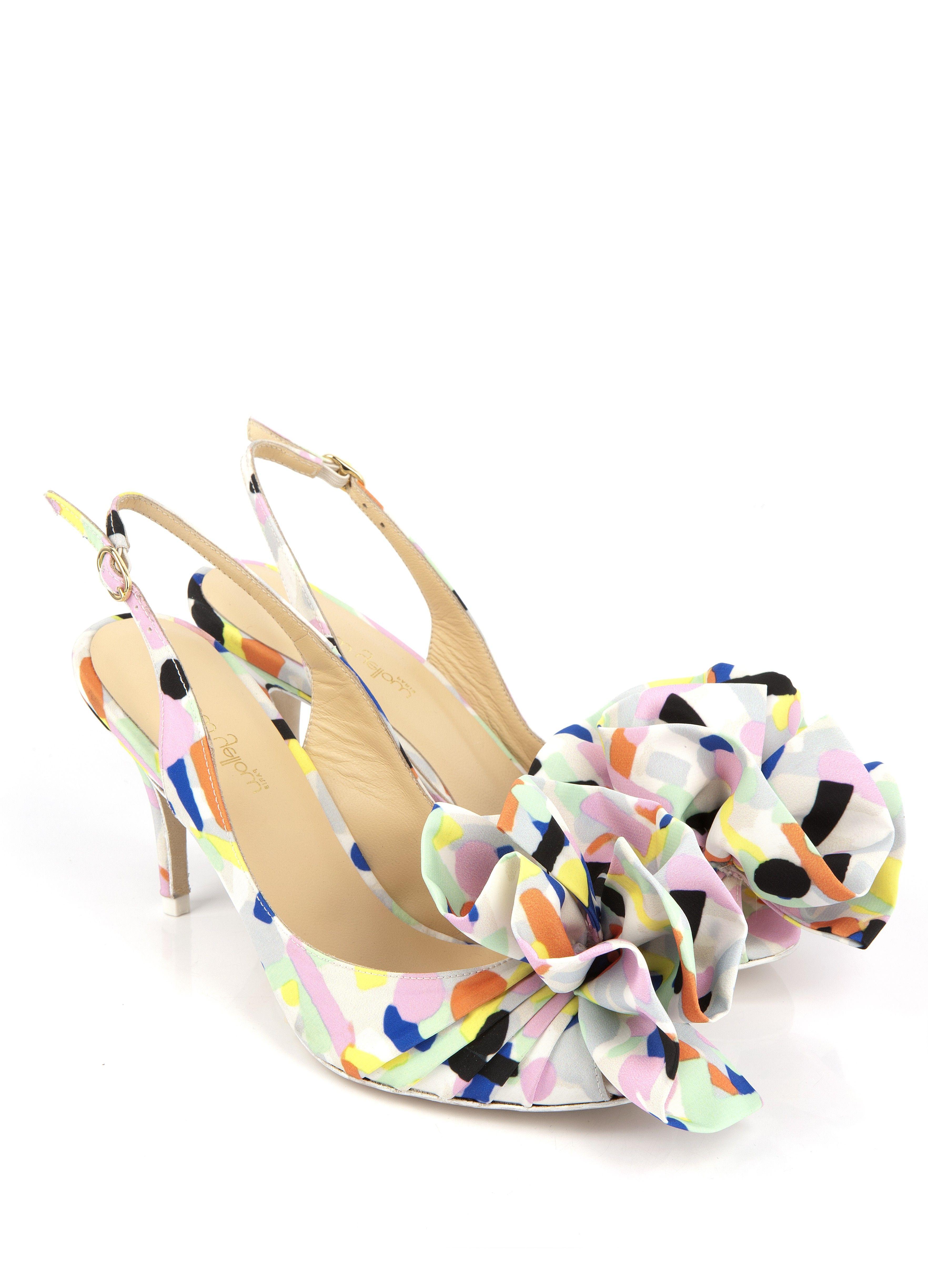 sandale à talon showtime jaune - sandales à talons - chaussures