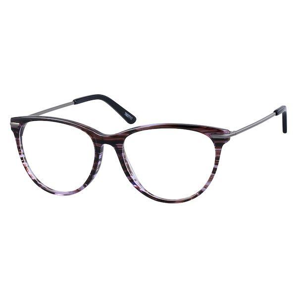 d38b0e452c Zenni Womens Cat-Eye Prescription Eyeglasses