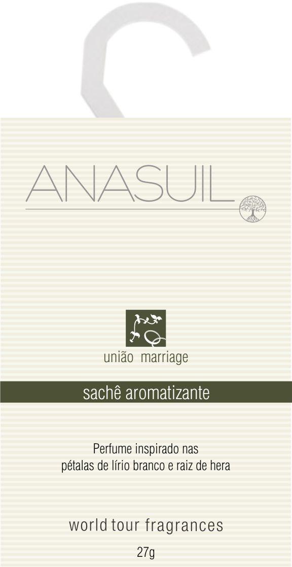 Sachê aromatizante Linha União Marriage ANASUIL http://www.anasuilblog.blogspot.com.br/
