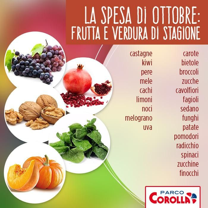 Cosa portare in tavola nel mese di Ottobre? Ecco quali sono i deliziosi alimenti di stagione #verduradistagione #cibo #food