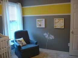 grey and yellow nursery