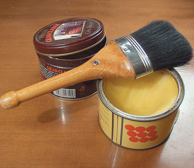 finitura a cera, finitura a olio, finitura legno, cera d\'api, cera ...